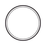 circle seal stamp icon vector illustration design - 136072012