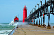 Grand Haven Lighthouse Michigan