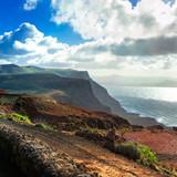 Lanzarote -impressive volcanic island Canary,Spain