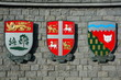 Canadian coats of arms for Newfoundland,Northwest territory and PEI.