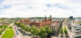 Fototapety High Angle View of Stuttgart Koenigstrasse Panorama