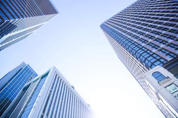 Business buildings