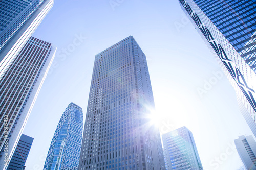 Business skyscrapers