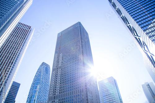 Fototapeta Business skyscrapers