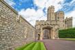 Entry castle architecture in Medieval Windsor Castle