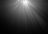 abstract beautiful rays of light on black background. - 136159298
