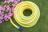 Gardening- hose-pipe on the grass - 136162477