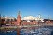 center of Moscow. Kremlin wall.