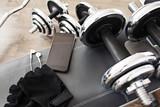 Fototapety fitness equipment