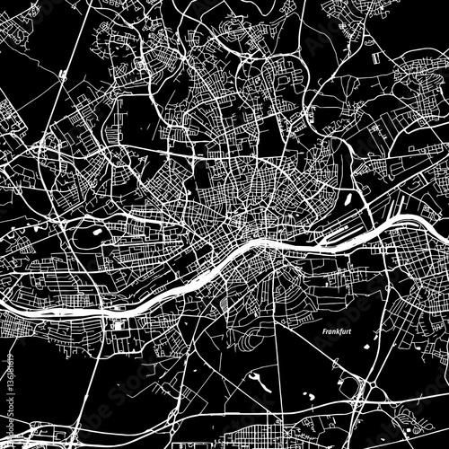 Frankfurt Vector Map - 136181619