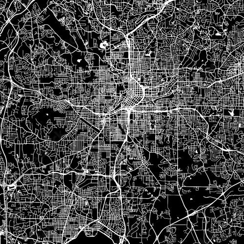 Atlanta Vector Map - 136182650