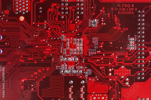 Red circuit board