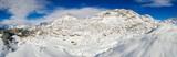 Valmalenco (IT) - Vista aerea invernale dellalpe di Campagneda
