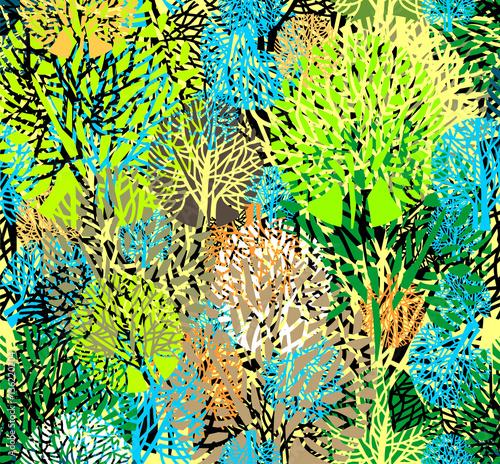 Obraz Floral multicilored background.