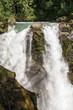 Nooksack Falls at Snoqualmie NF, WA, USA