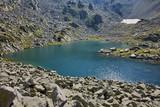 Amazing view of Argirovo lake, Pirin Mountain, Bulgaria