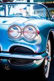 Light Blue Corvette