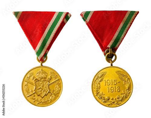 Bulgarien Kriegserinnerungsmedaille 1915 - 1918 / erster weltkrieg