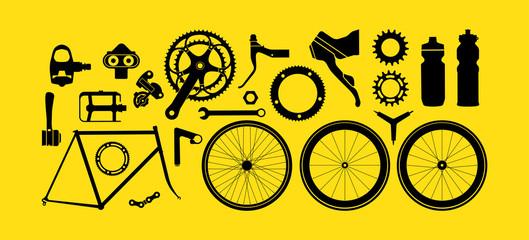 Modern Bike gears & parts