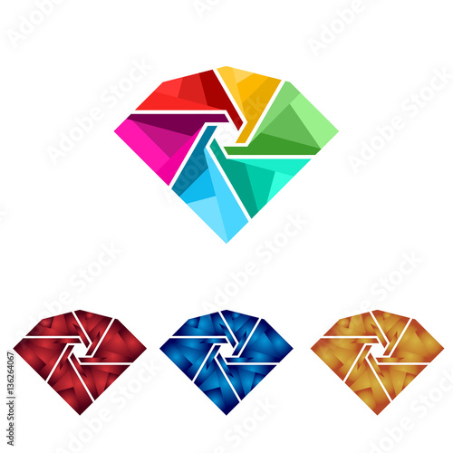 Diamond Jewelry Jewellery Jewel Colorful Symbol