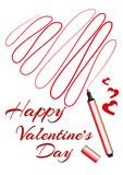 buon San Valentino cuore stilizzato