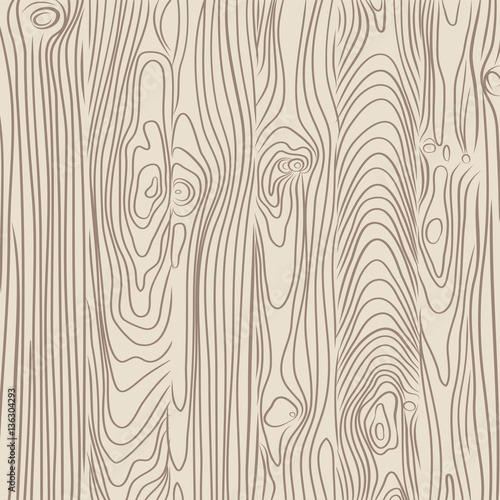 vector illustration of old wooden planks texture - 136304293