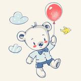 Miś z balonikiem