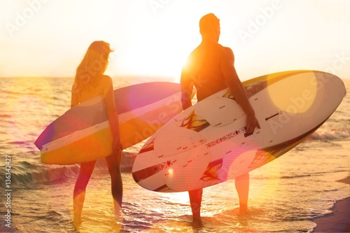 Surfing. Poster