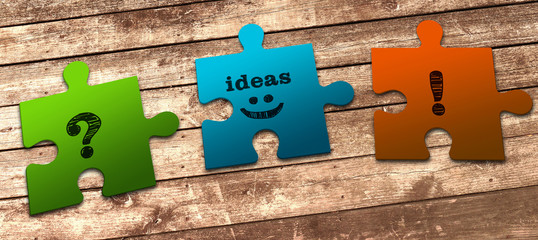 Business Concept: Problems, Ideas & Solutions