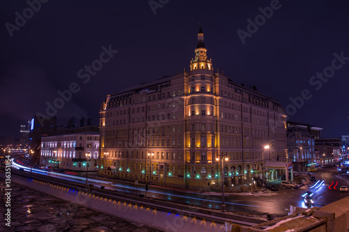 Poster Hotel Baltschug Kempinski Moscow