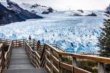 Road to the glacier.