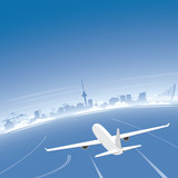 Rotterdam Skyline Flight Destination