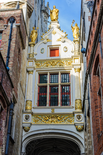 Papiers peints Bruges Blind Donkey Alley in Bruges, Belgium