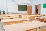 Interior of a school class - 136379699