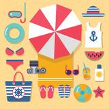 summer holidays on beach - 136384638