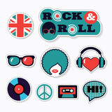 Trendy british patches, stickers and pins - 136384650