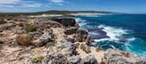 Rocky coastline panorama near Hanson Bay, Kangaroo Island, South Australia