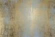 Quadro scratched golden foil texture