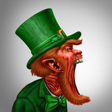Leprechaun Screaming Character
