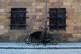 Modernes Fahrrad in Stockholm