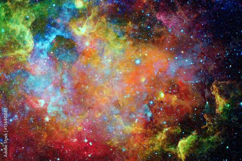 Fototapeta Galaxy and nebula. Elements of this Image Furnished by NASA