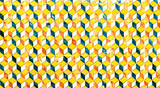 Abstract geometric colorful Moroccan, Portuguese tiles, Azulejo,