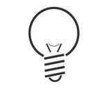 pittogramma lampadina
