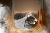 Fire in plane