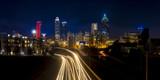 Downtown Atlanta Georgia at night panorama - 136462886