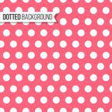 Polka dot seamless pattern. Vector illustration. Texture design for background