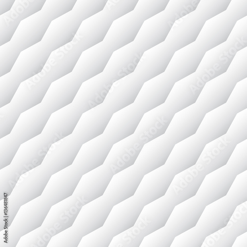 White and grey diagonal seamless abstract vector pattern - 136481847