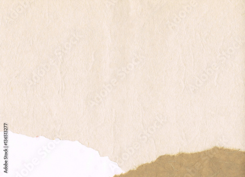 白和紙の背景(横位置) Poster