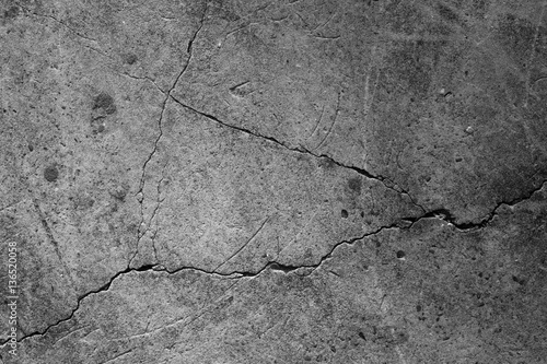 Crack concrete texture surface background. - 136520058