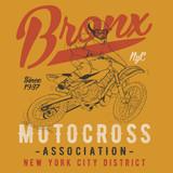 motocross biker illustration for t-shirts - 136559416